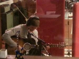 Foto: inspelning av akustisk gitarr
