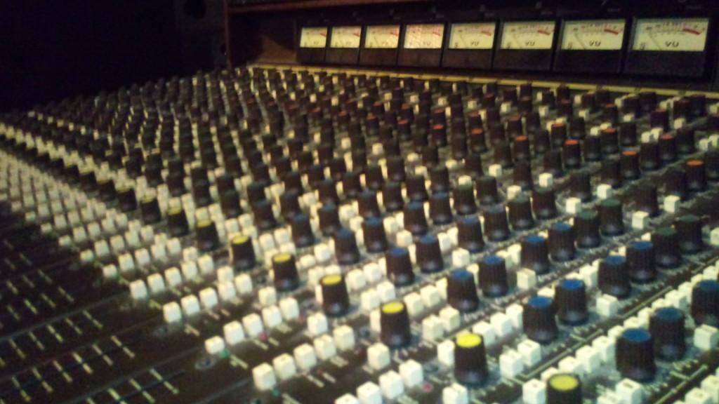 Soundcraft 1624 mixer (tidigare Studio 38)