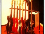 Inspelningsstudions gitarrer