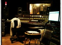 Bild på kontrollrummet - Playground Studio Halmstad
